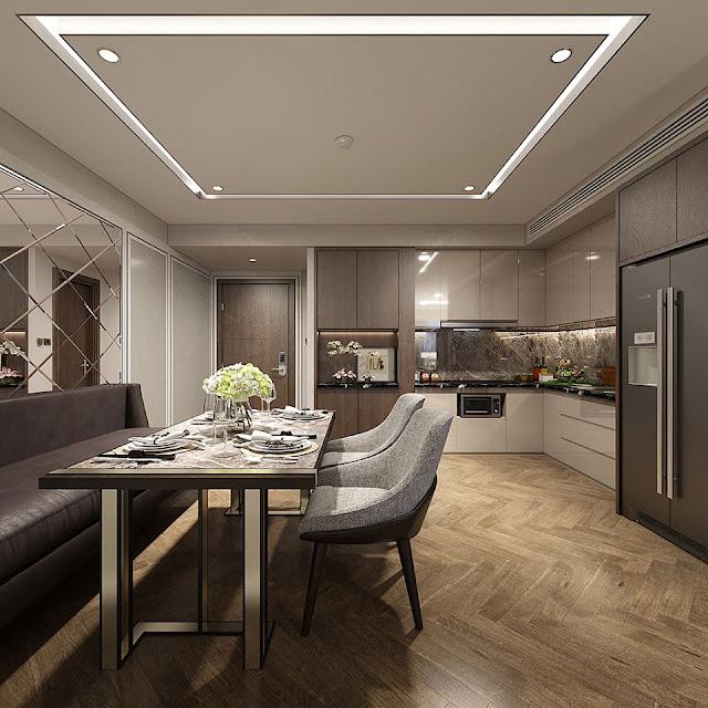 Thiết kế đẳng cấp căn hộ Land Mark Đà Nẵng