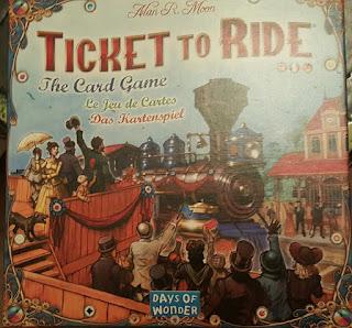 Les Aventuriers du Rail Jeu de cartes