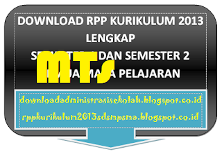 RPP Bahasa Arab MTs Kelas VIII Kurikulum 2013