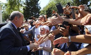 Μήνυμα Ερντογάν στην Ε.Ε μέσω προεκλογικής συγκέντρωσης στο Σεράγεβο