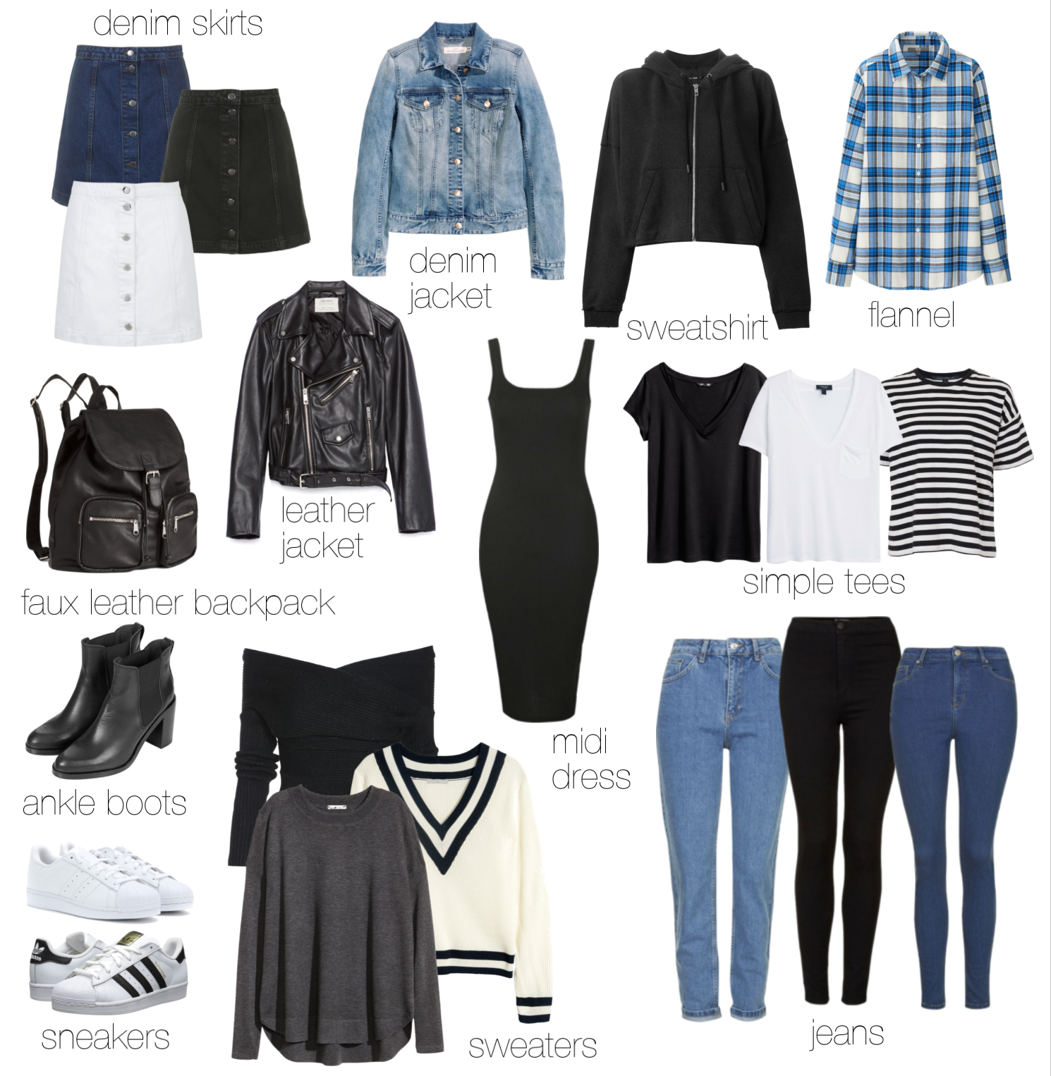 Cute Outfits With Black Jeans For School