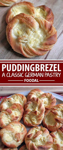 German Puddingbrezel