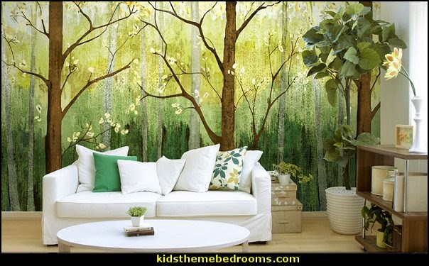 Decorating theme bedrooms - Maries Manor: Tree Murals - tree wall decals - tree wall murals ...