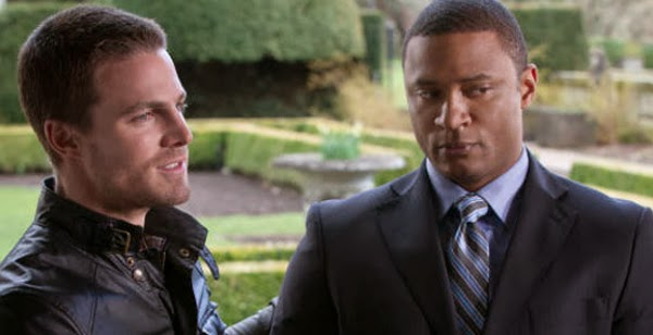 Arrow (2013) - Oliver Queen (Stephen Amell) John Diggle (David Ramsey)