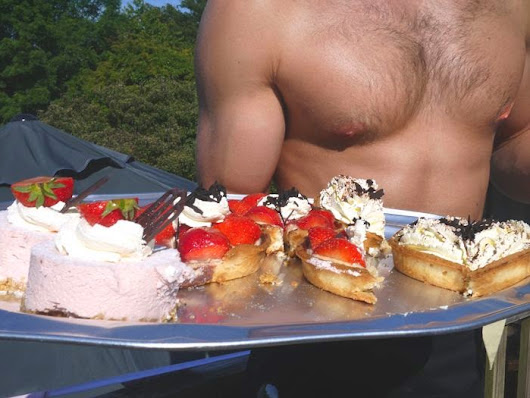 Afternoon Tea with Butlers in the Buff