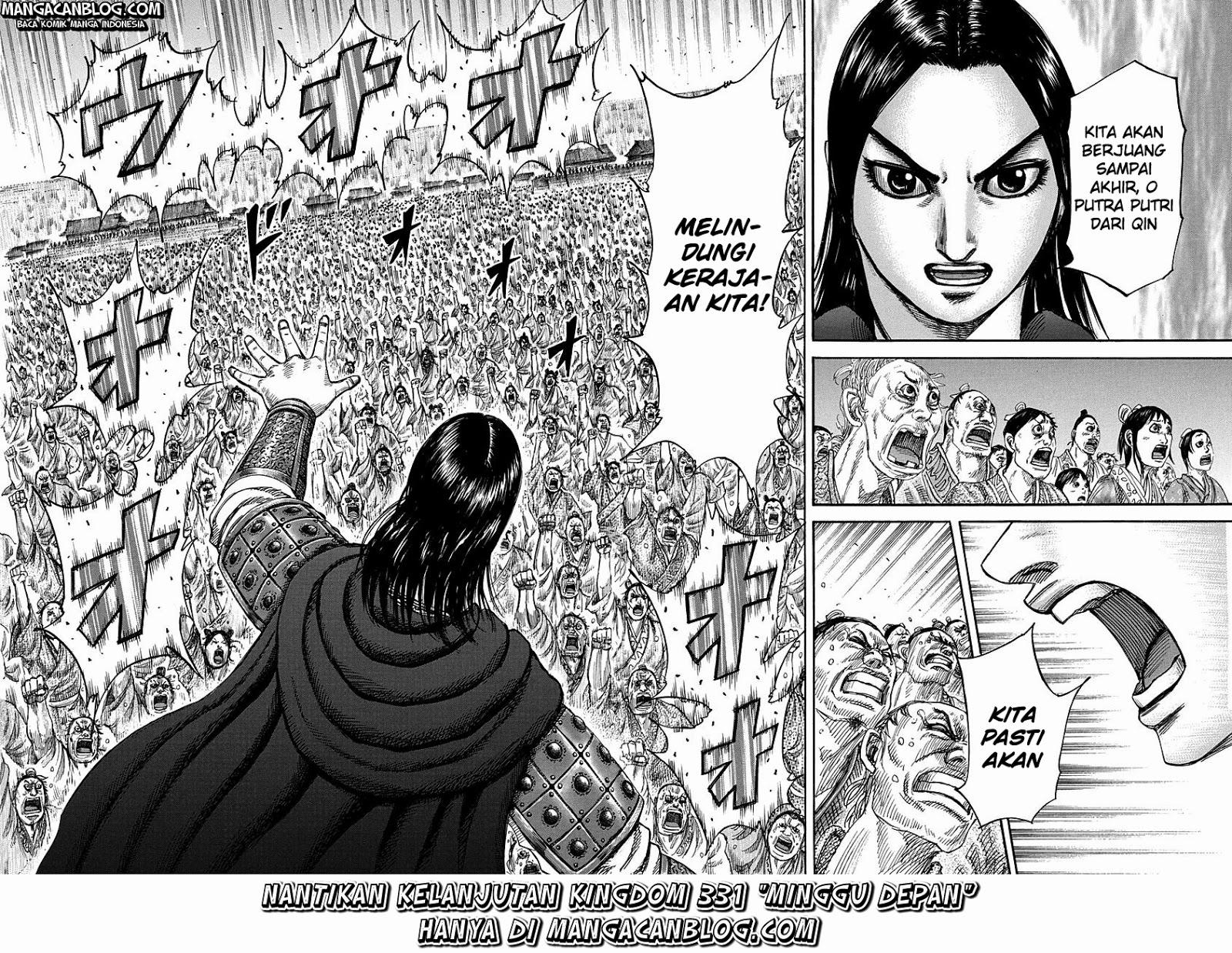 Baca Komik Manga Kingdom Chapter 330 Komik Station
