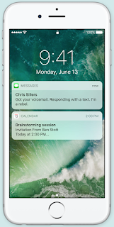 iOS 10 feature raise to wake up
