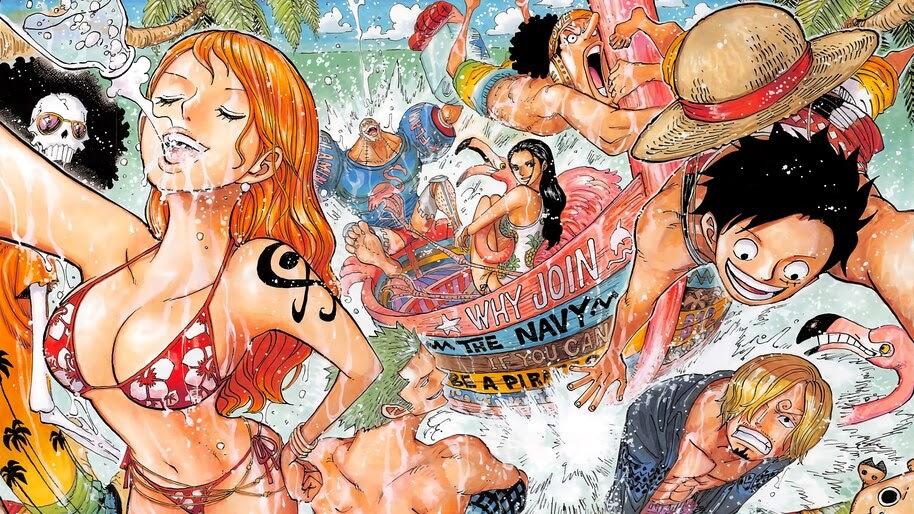 One Piece, Straw Hat Pirates, 4K, #6.164