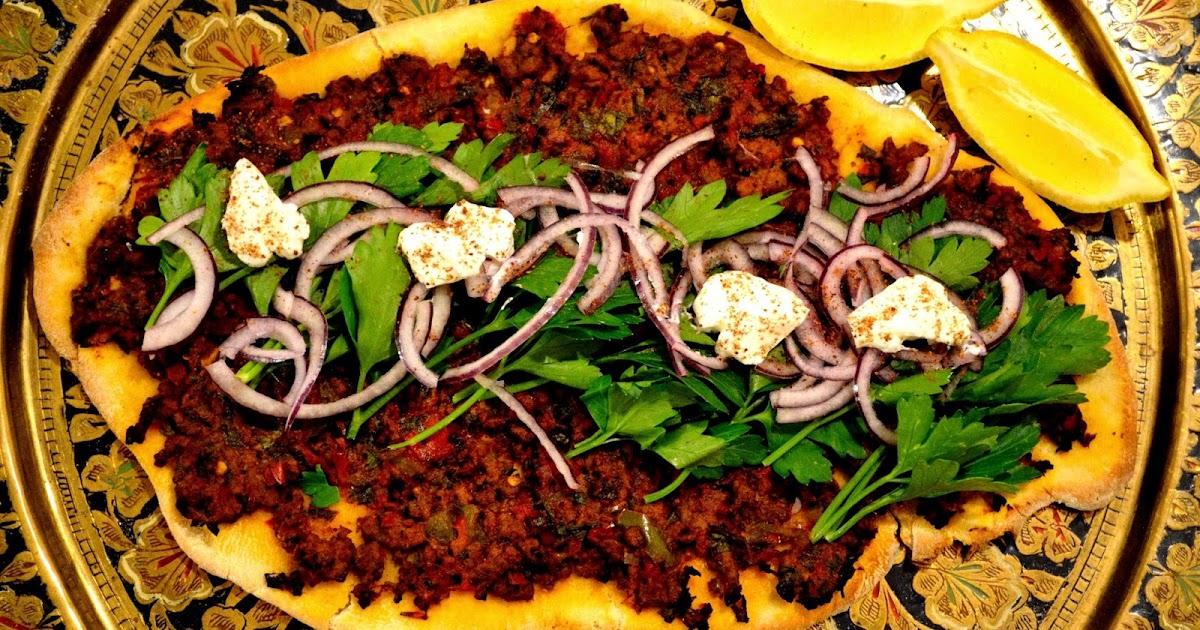 Lahmacun Turkish Street Food