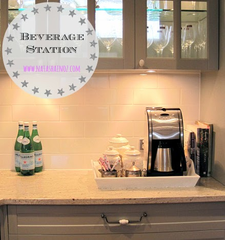 Coffee Time, My New Beverage Station, beverage station, Natasha in Oz, French Provincial Kitchen image