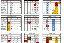 Kalender Pendidikan 2018/2019 Lampung