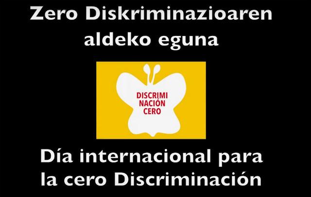 Imagen de la campaña por la cero discriminación