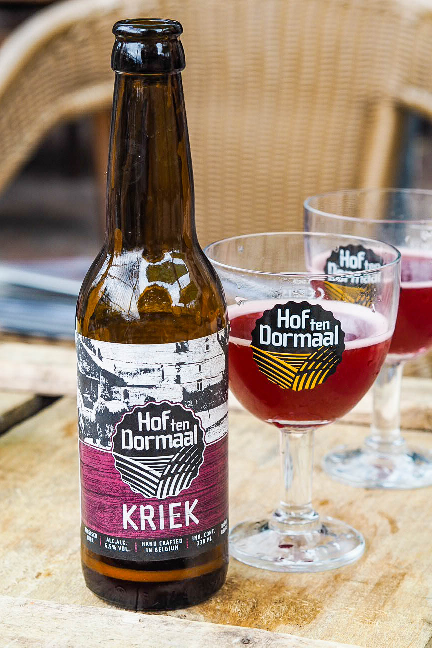 Hof Ten Dormaal Brewery's kriek beer