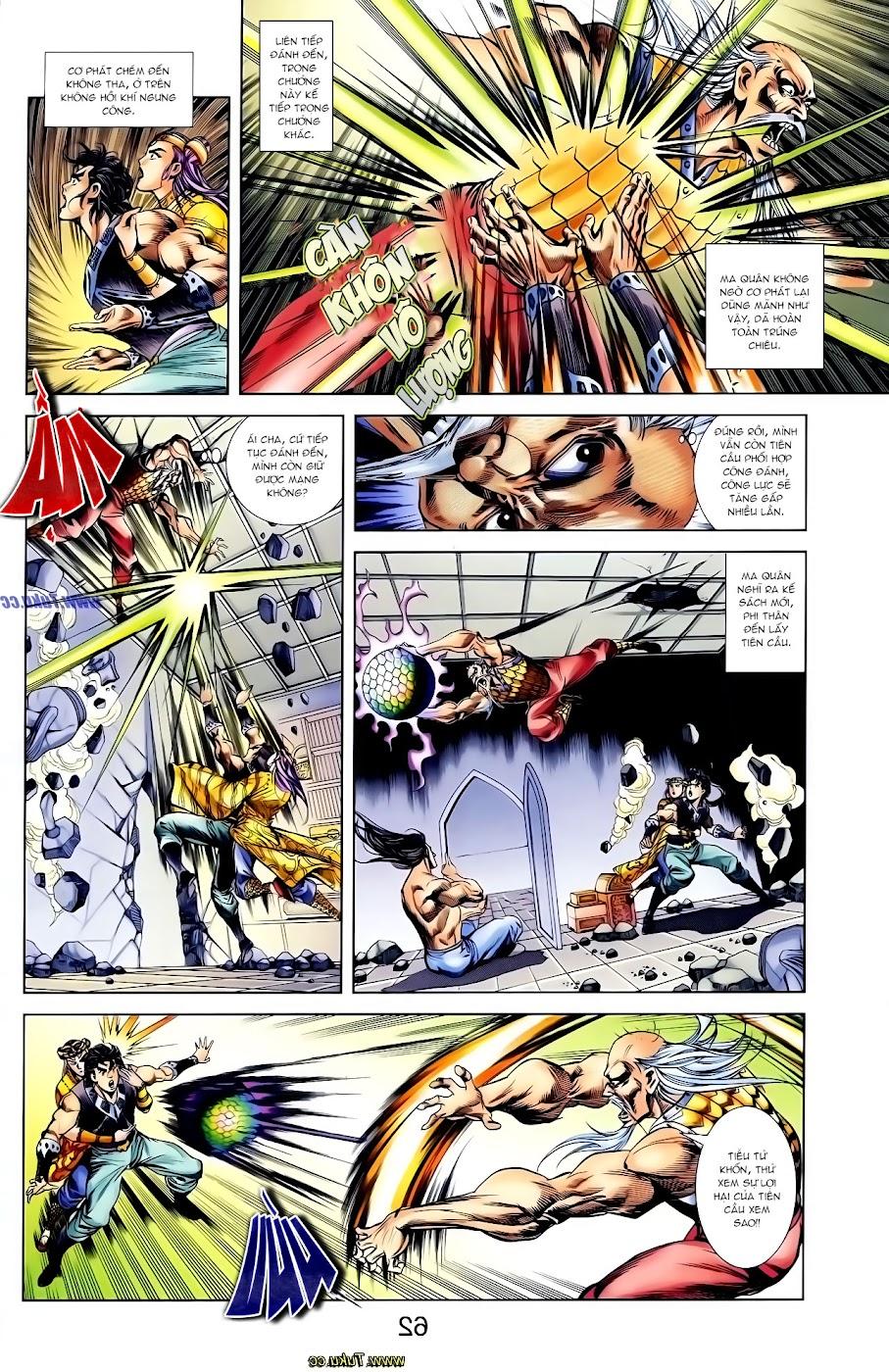 Cơ Phát Khai Chu Bản chapter 117 trang 21