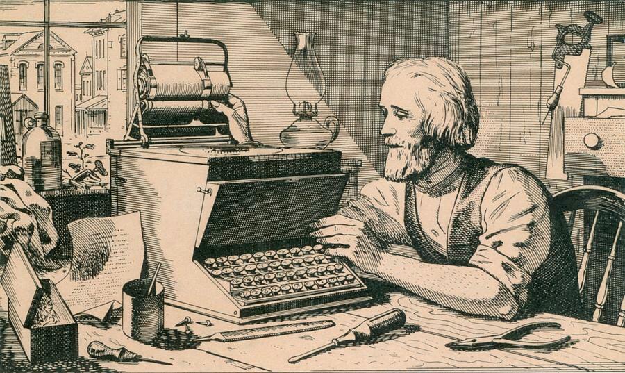 Sejarah Dan Penemu Keyboard Qwerty Wonder Black