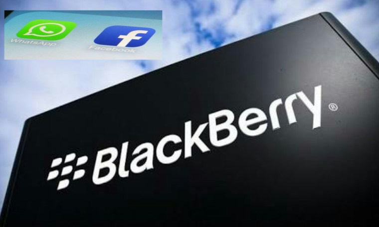 Blackberry Charge Whatsapp Facebook And Instagram For Breaching Of