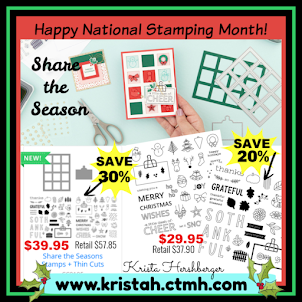 Happy NATIONAL Stamping Month!!