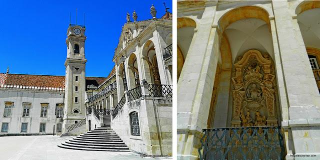 Universidade de Coimbra - Paço das Escolas e Torre do Relógio