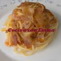 Espaguetis al pimentón