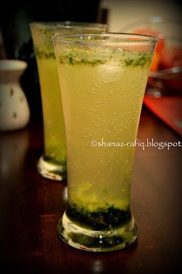 Lemon & Mint Cooler