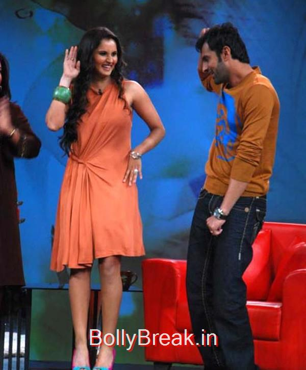 Sania shakes a leg with Shoaib on Nach Baliye 4,  7 Rare Unseen Pictures of Sania Mirza