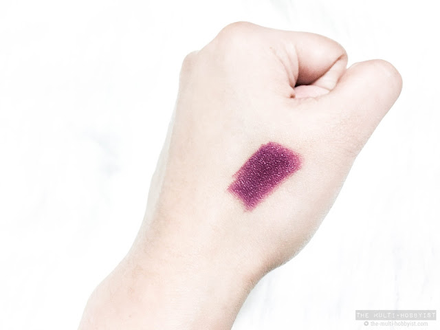 Beauty: MAC Cosmetics Magic Of the Night lipstick in Enchanted review + swatches