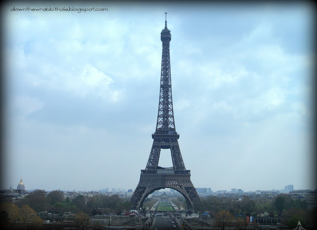 Eiffel Tower from the plaza, things to see in Paris France