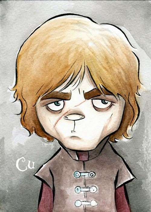 01-Game-of-Thrones-Tyrion-Lannister-Chris-Uminga-Game-of-Thrones-Watercolours-www-designstack-co