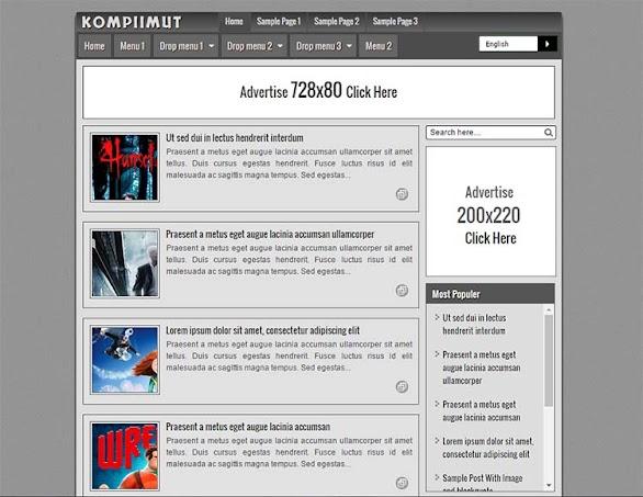 Free Blogger Template - Kompiimut