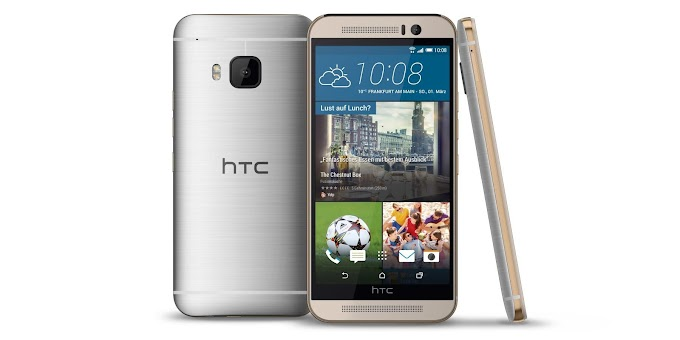 HTC One M9 pre-orders go live at 12:01AM on March 27th, unlocked device priced at $649