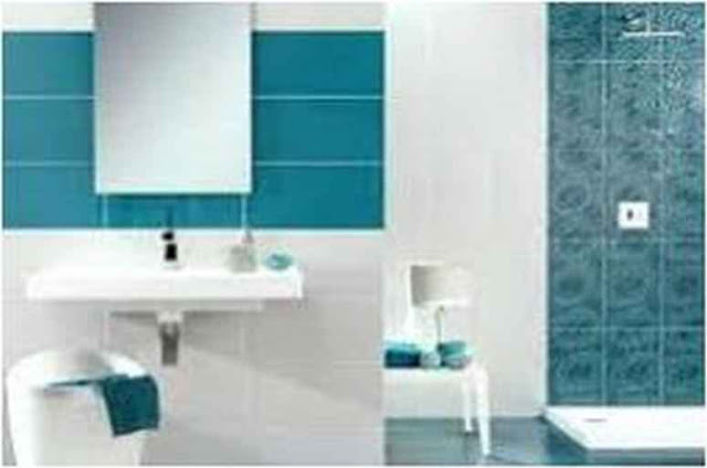 Ideas For Decorating A Bathroom With Blue Fixtures HD 12G