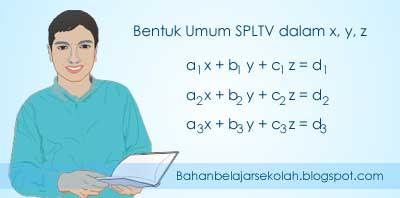 Bentuk umum SPLTV