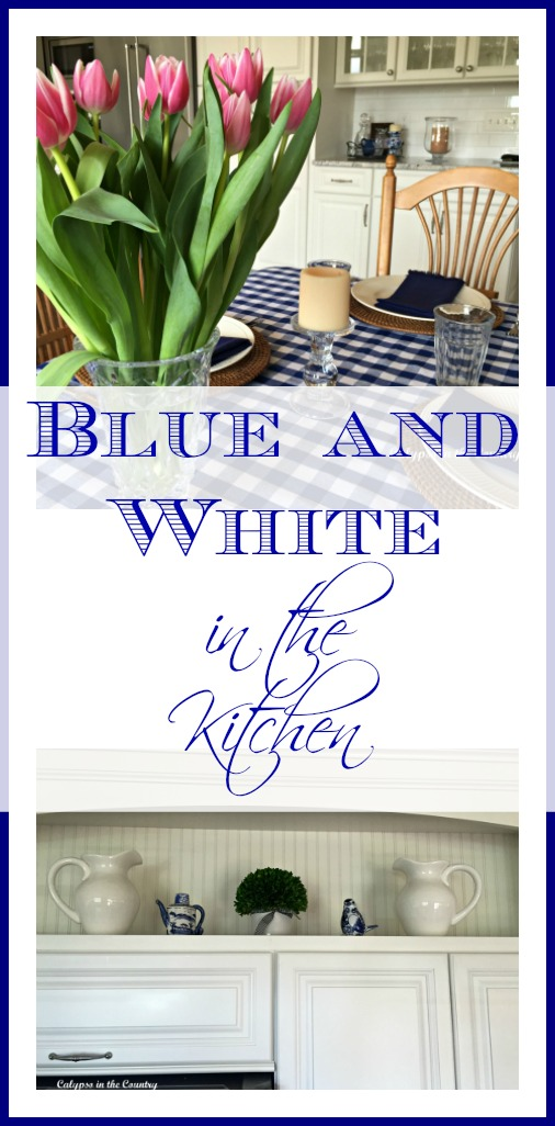 Blue and White for Mother's Day