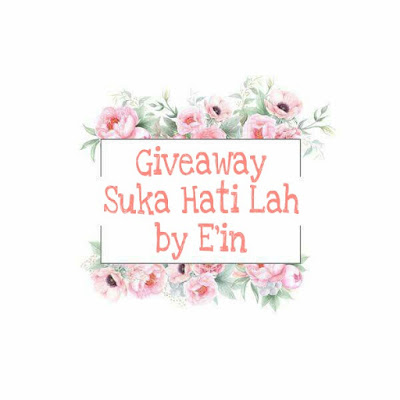 http://thatsomine.blogspot.my/2017/10/giveaway-suka-hati-lah-by-ein.html