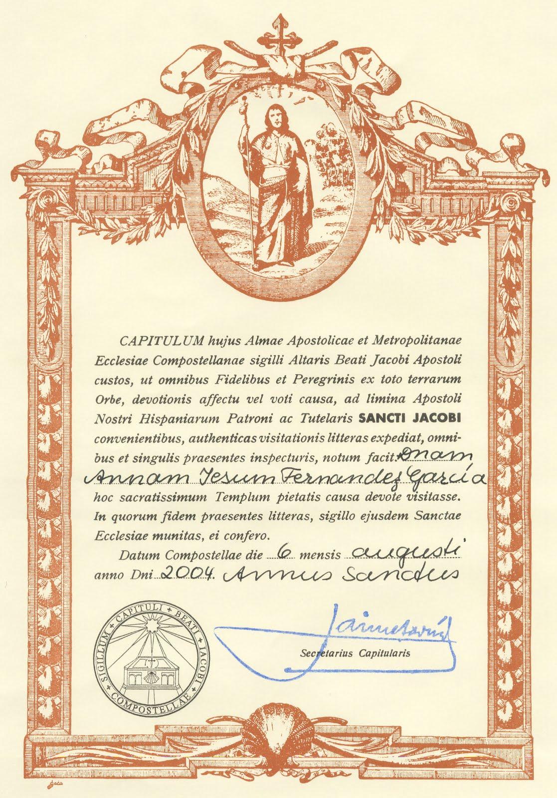 El camino de santiago desde asturias cambios en la for Oficina correos santiago de compostela