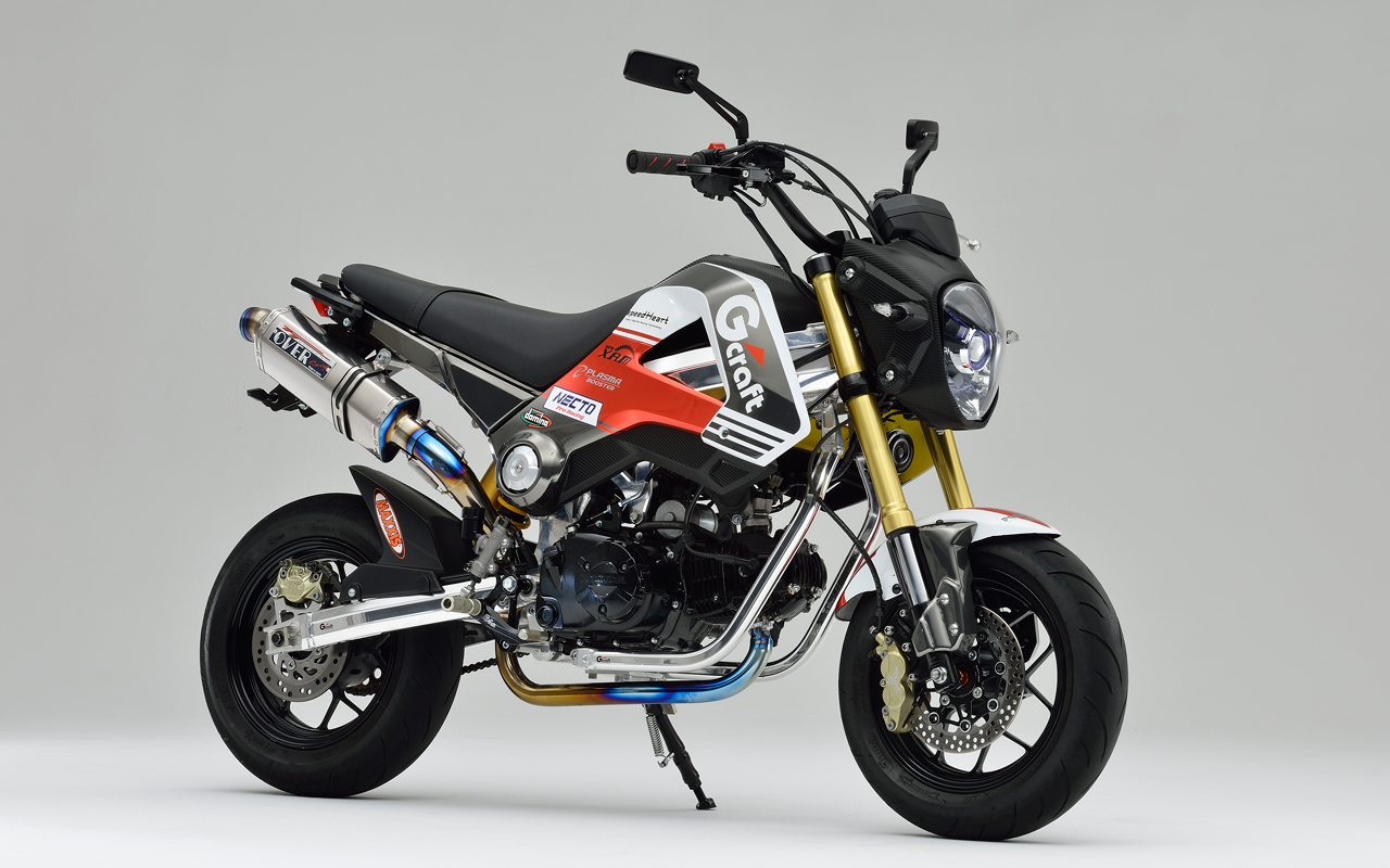 Racing caf honda grom by gcraft for Honda grom