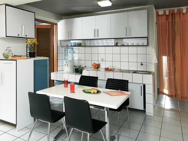 dekorasi dapur rumah type 36