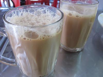 Kampong Glam Cafe, teh