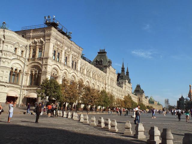 Almacenes GUM en Moscú