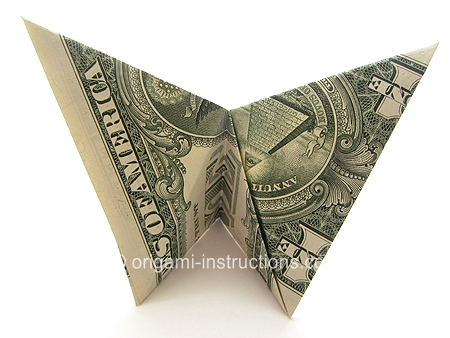 Origami-Instructions.com: Money Origami Butterfly - photo#15