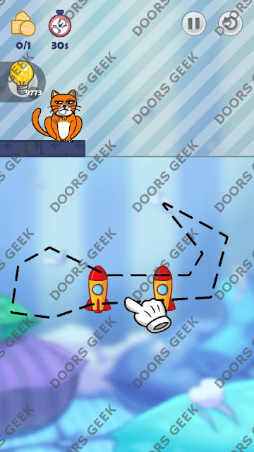 Hello Cats Level 158 Solution, Cheats, Walkthrough 3 Stars for Android and iOS
