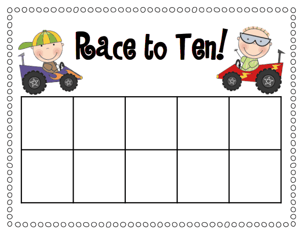 Tens Frames Template. tens frame template teacher mama using ten ...