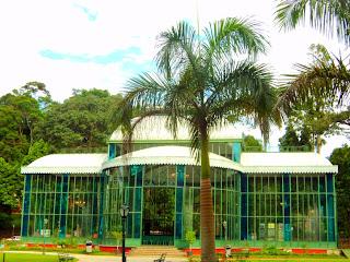 Vidros e Metal formam o Palácio de Cristal, em Petrópolis