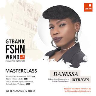 Danessa Myricks is coming to the 2017 GTBank Fashion Weekend