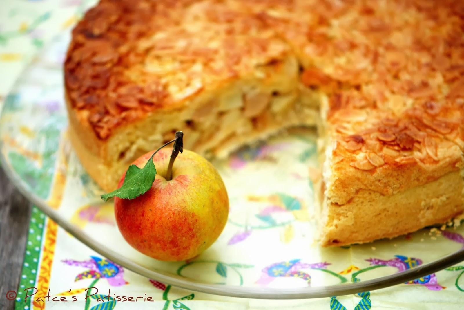 Patces Patisserie Florentiner Apfel Torte Der Beste Apfelkuchen