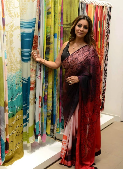 Gauri Khan Launches Her New Collection of Designer Saree for Satya Paul