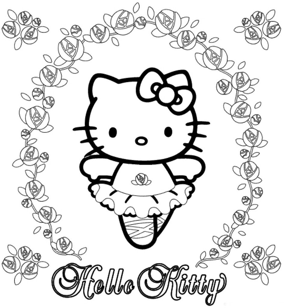 Hello Kitty Para Colorear Blog De Imágenes
