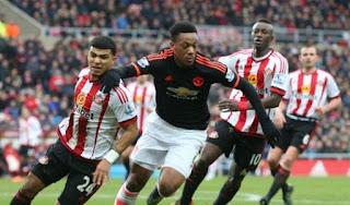 Sunderland vs Manchester United  Martial