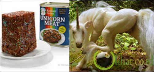 Daging unicorn dalam kaleng