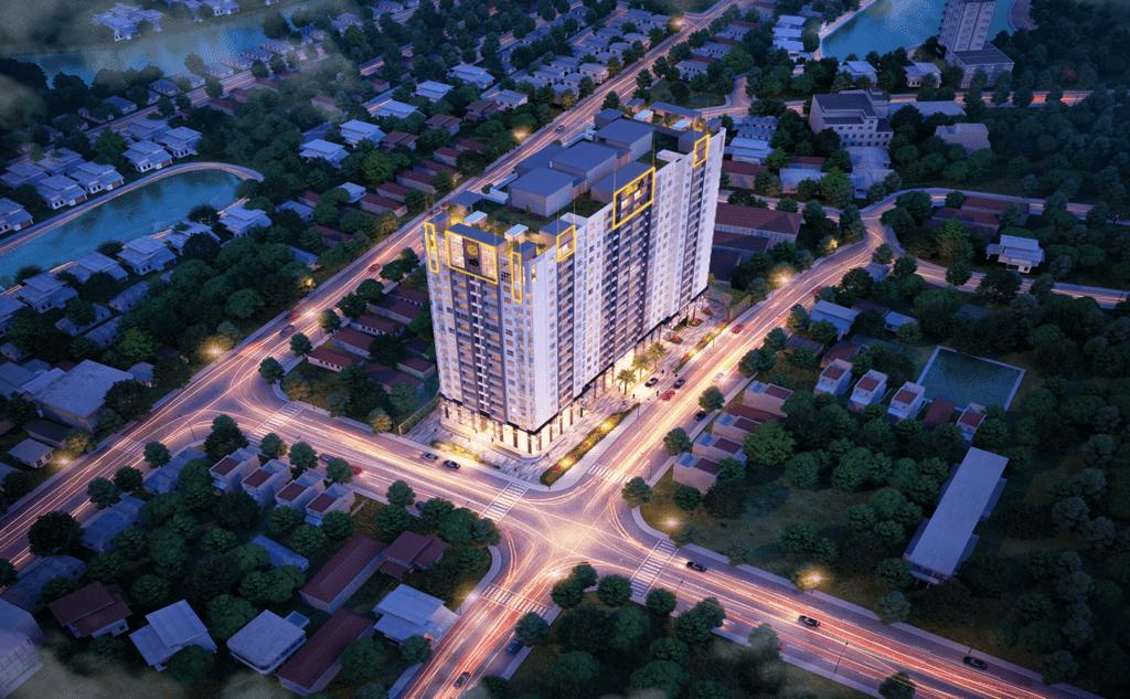 Phối cảnh dự án chung cư One 18 Long Biên